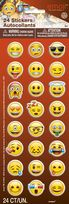 Emoji Faces Puffy Sticker Sheets